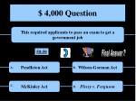 4 000 question
