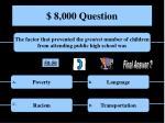 8 000 question