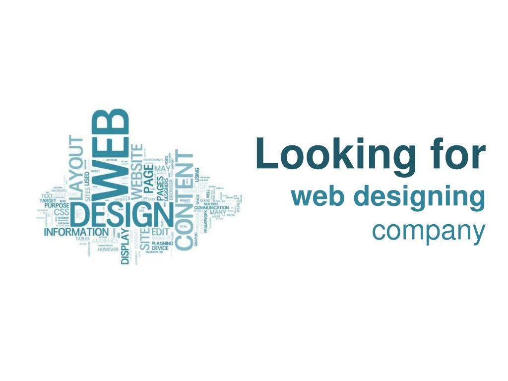 looking for web designing company l.