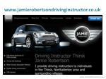 www jamierobertsondrivinginstructor co uk