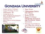 gonzaga university41