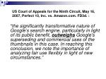 us court of appeals for the ninth circuit may 16 2007 perfect 10 inc vs amazon com fd3d