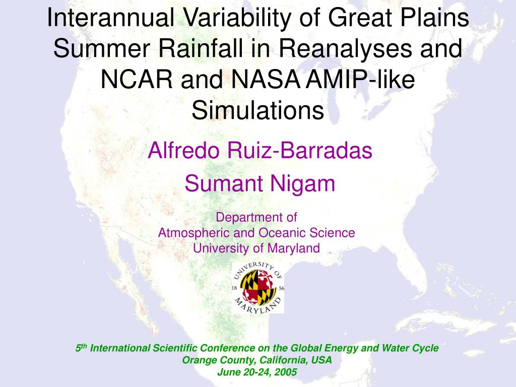 Interannual Variability of Great Plains Summer Rainfall in Reanalyses and NCAR and NASA AMIP-like Simulations