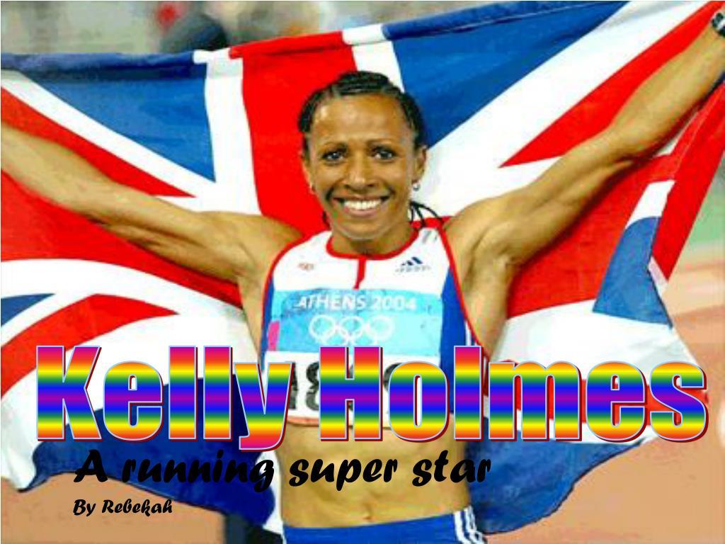 a running super star by rebekah l.