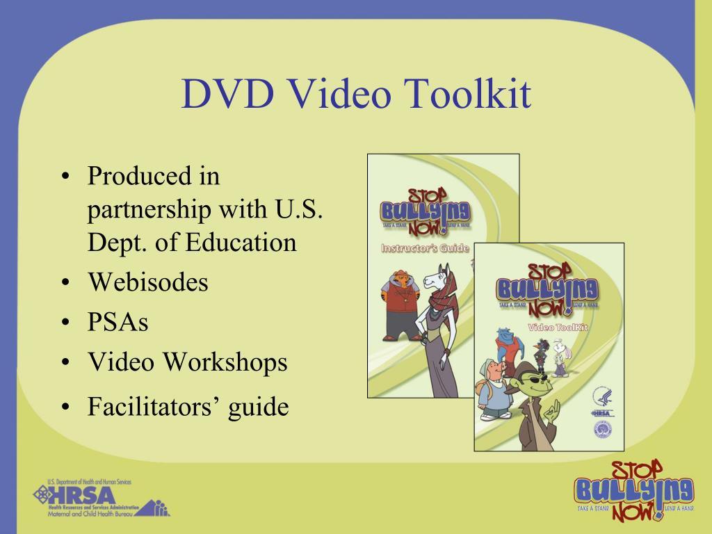 DVD Video Toolkit