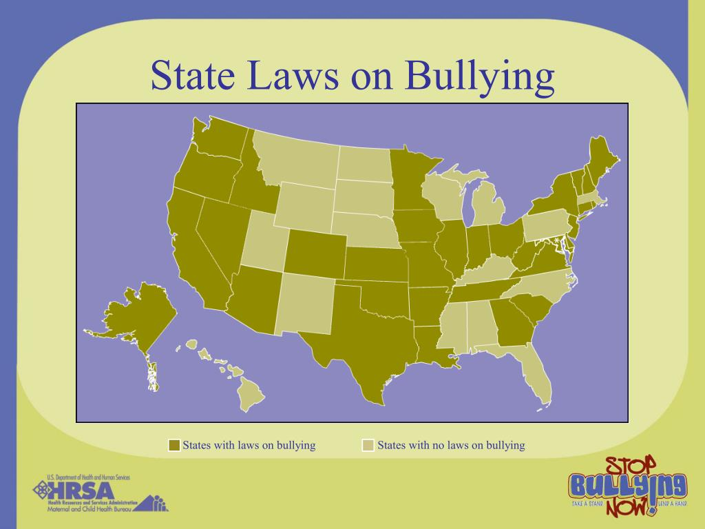 State Laws on Bullying
