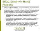 eeoc scrutiny in hiring practices8