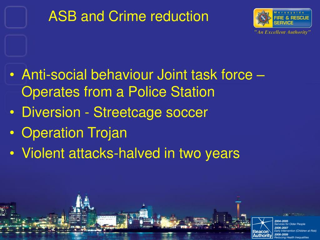 ASB and Crime reduction