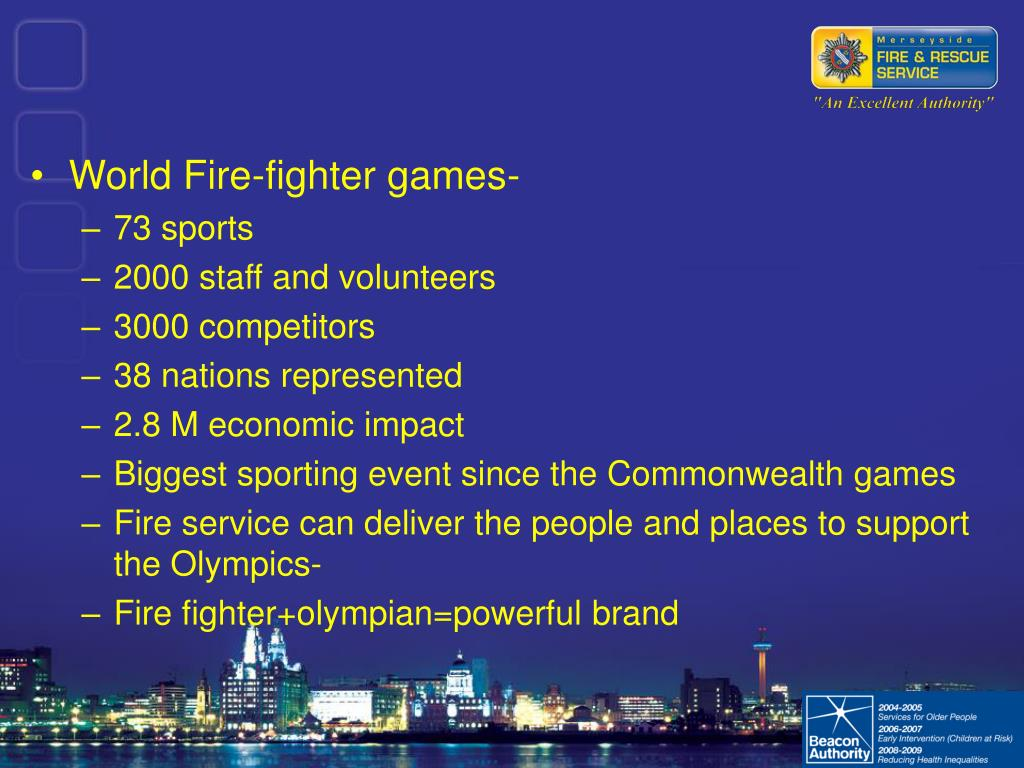 World Fire-fighter games-