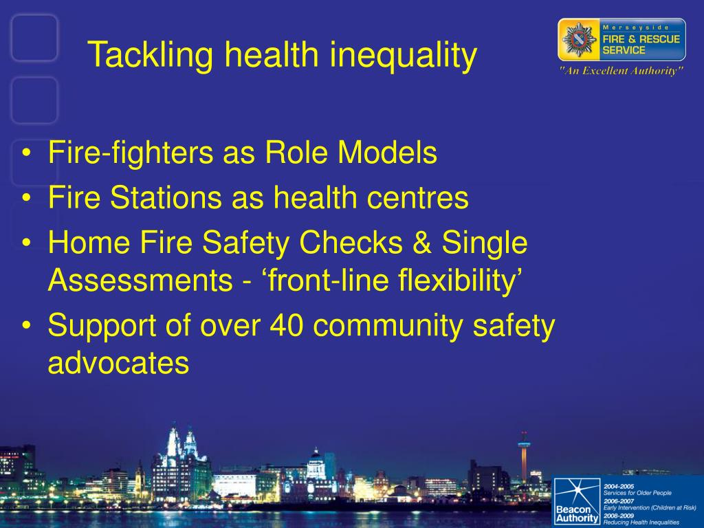 Tackling health inequality
