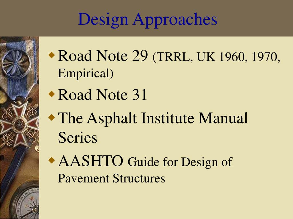 Design Approaches