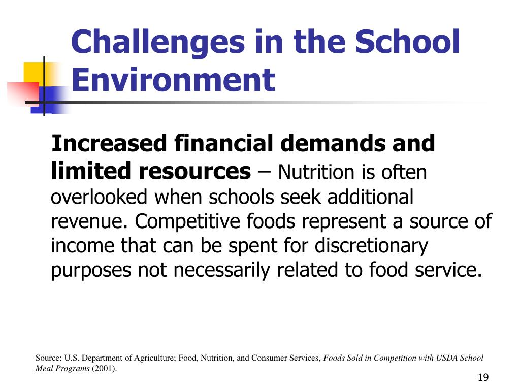 Challenges in the School Environment