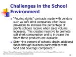 challenges in the school environment20