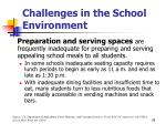 challenges in the school environment28