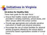initiatives in virginia33