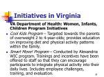 initiatives in virginia38