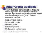other grants available44