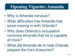 opening vignette amanda