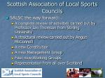 scottish association of local sports councils13