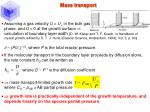 mass transport33