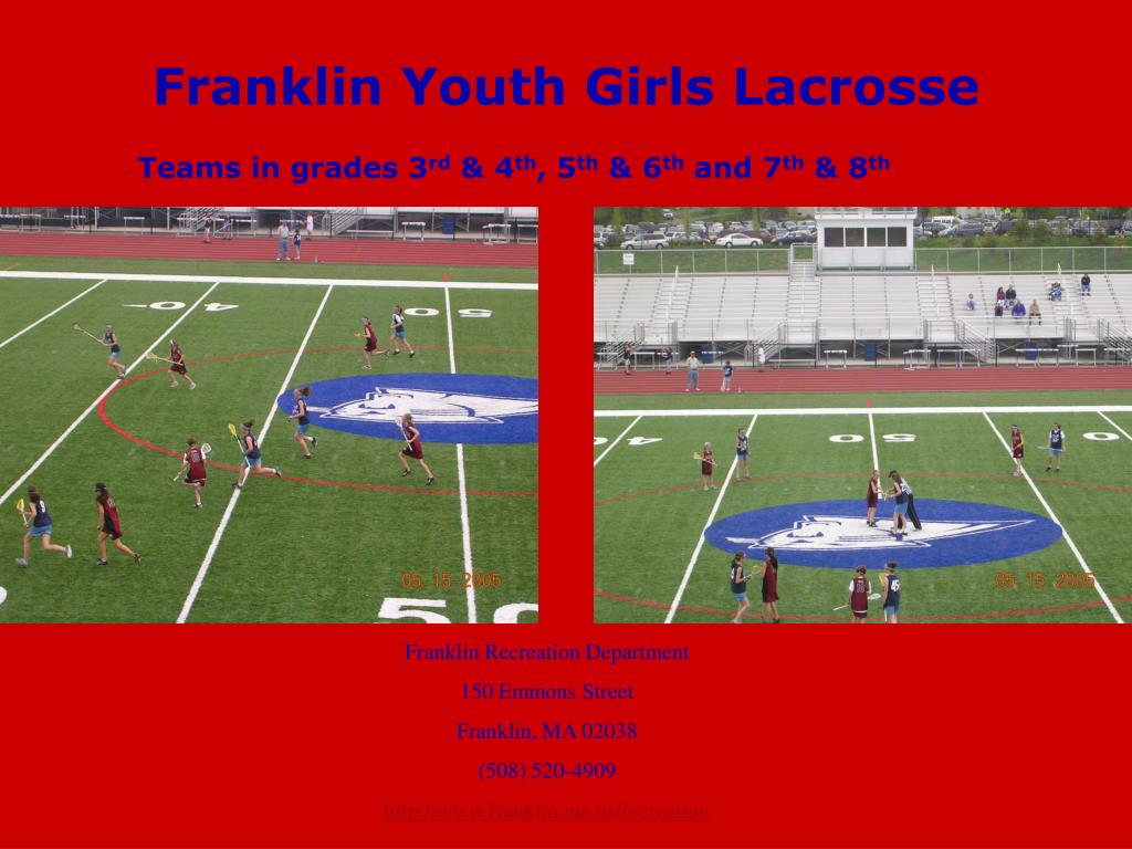 franklin youth girls lacrosse l.