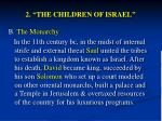 2 the children of israel4