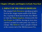 chapter 2 peoples and empires in early near east