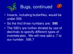 bugs continued24