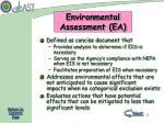 environmental assessment ea