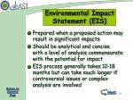 environmental impact statement eis