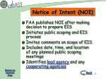 notice of intent noi
