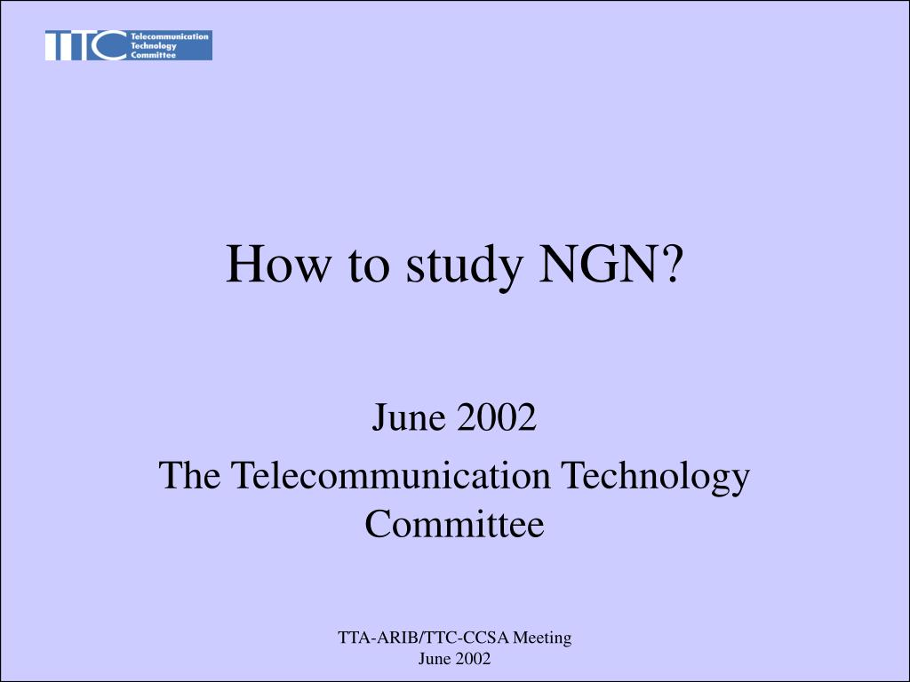 how to study ngn l.