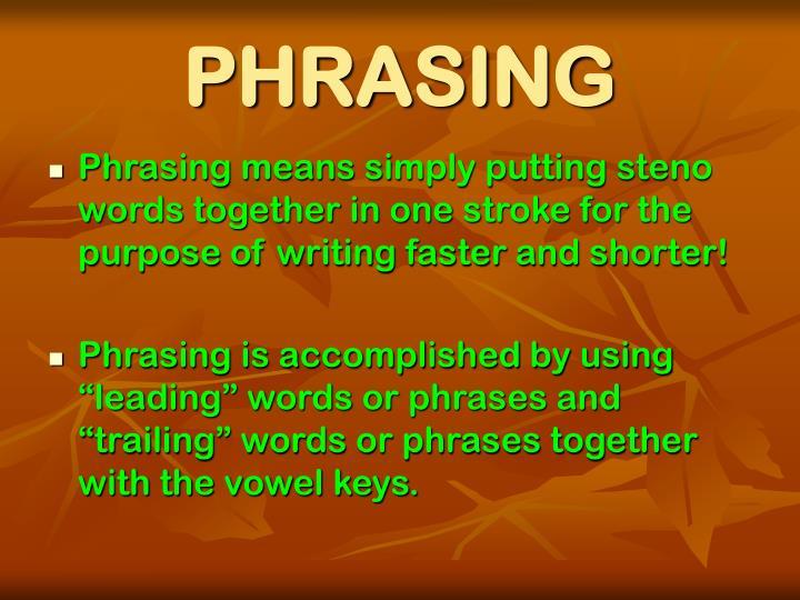 Phrasing1