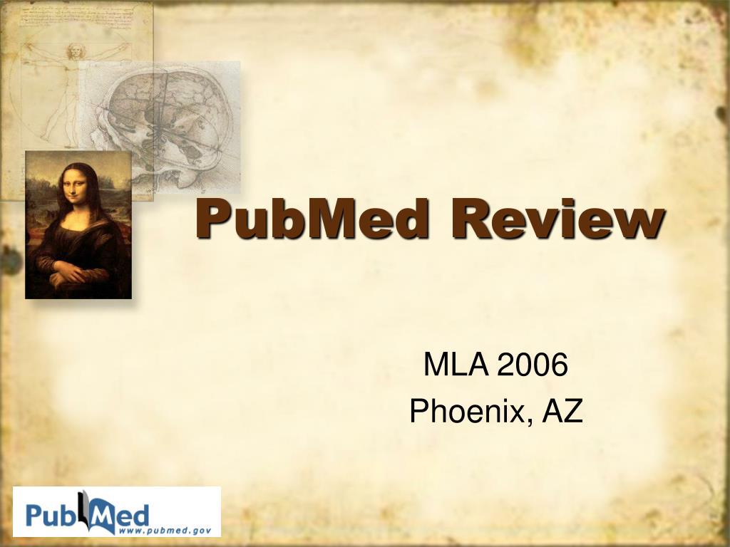 pubmed review l.