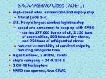 sacramento class aoe 1