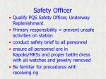 safety officer