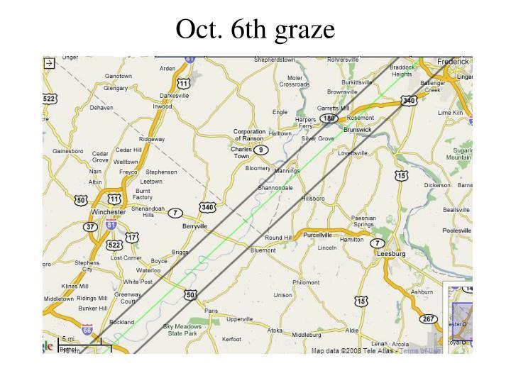 Oct. 6th graze