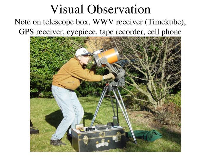 Visual Observation