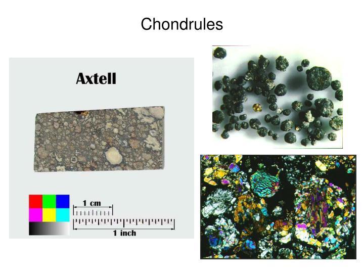 Chondrules