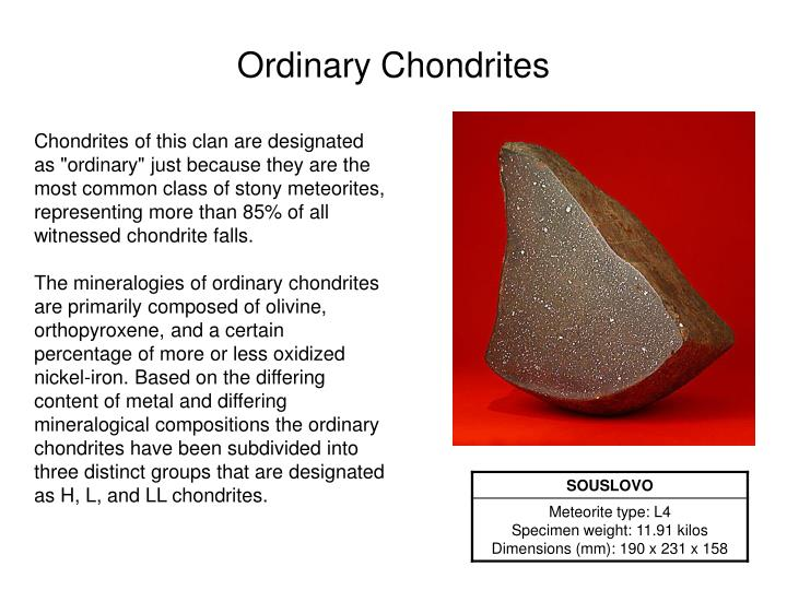 Ordinary Chondrites