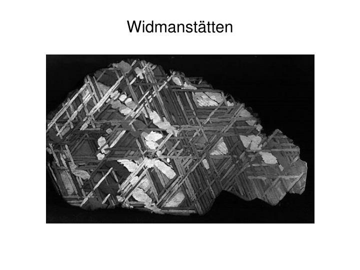 Widmanst