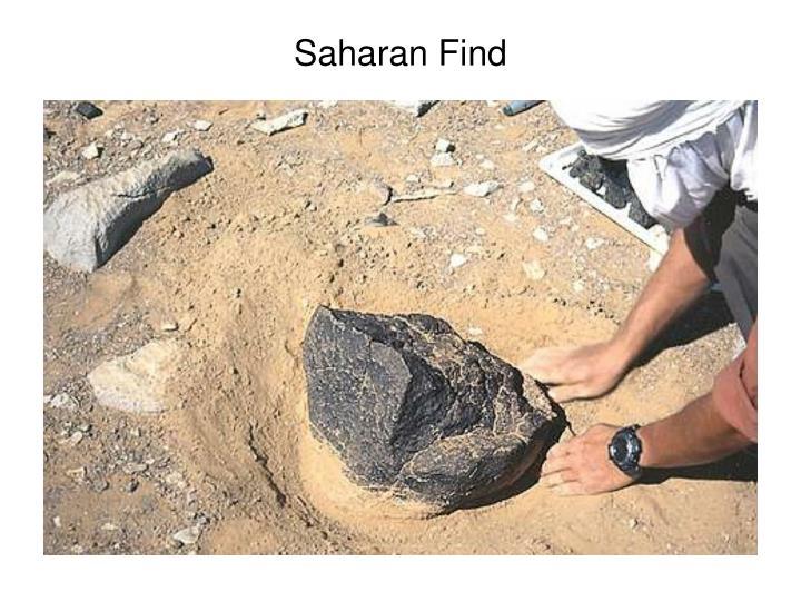 Saharan Find