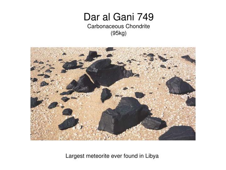 Dar al Gani 749