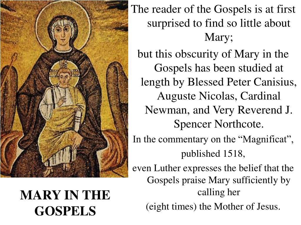 mary in the gospels l.