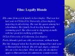 film legally blonde