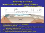 planetary evolution17