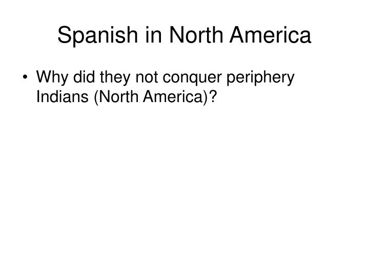 Spanish in North America