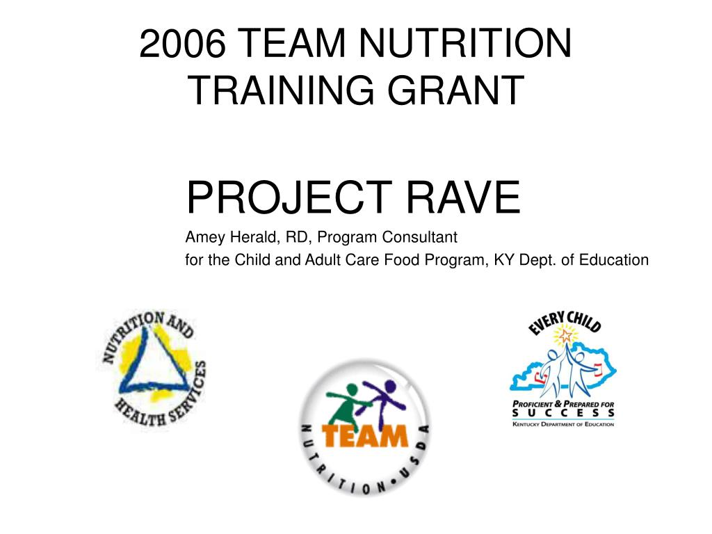 2006 team nutrition training grant l.