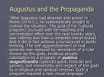 augustus and the propaganda