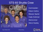 sts 93 shuttle crew